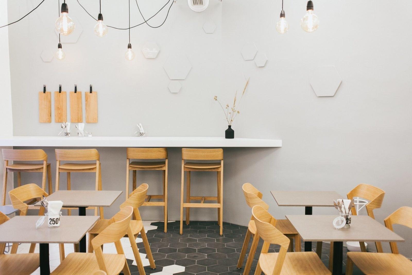 TON Merano Bar Stools and Chairs at Strudls Restaurant