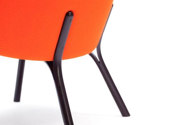 TON Lounge Armchair Split Z 1