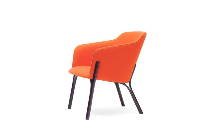 TON Lounge Armchair Split Z 3