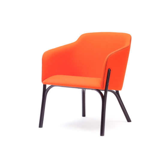 TON Lounge Armchair Split Z 4