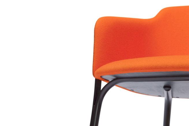 TON Lounge Armchair Split Z 6
