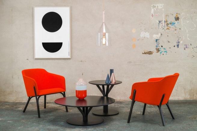 TON Lounge Armchair Split Z 7