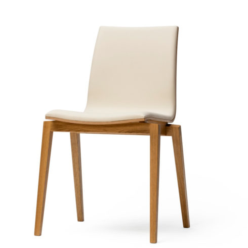 TON Stockholm Chair Upholstered Feat