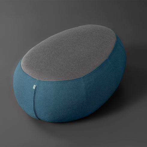 LEBELLO Pouf Stone Islands Z 19