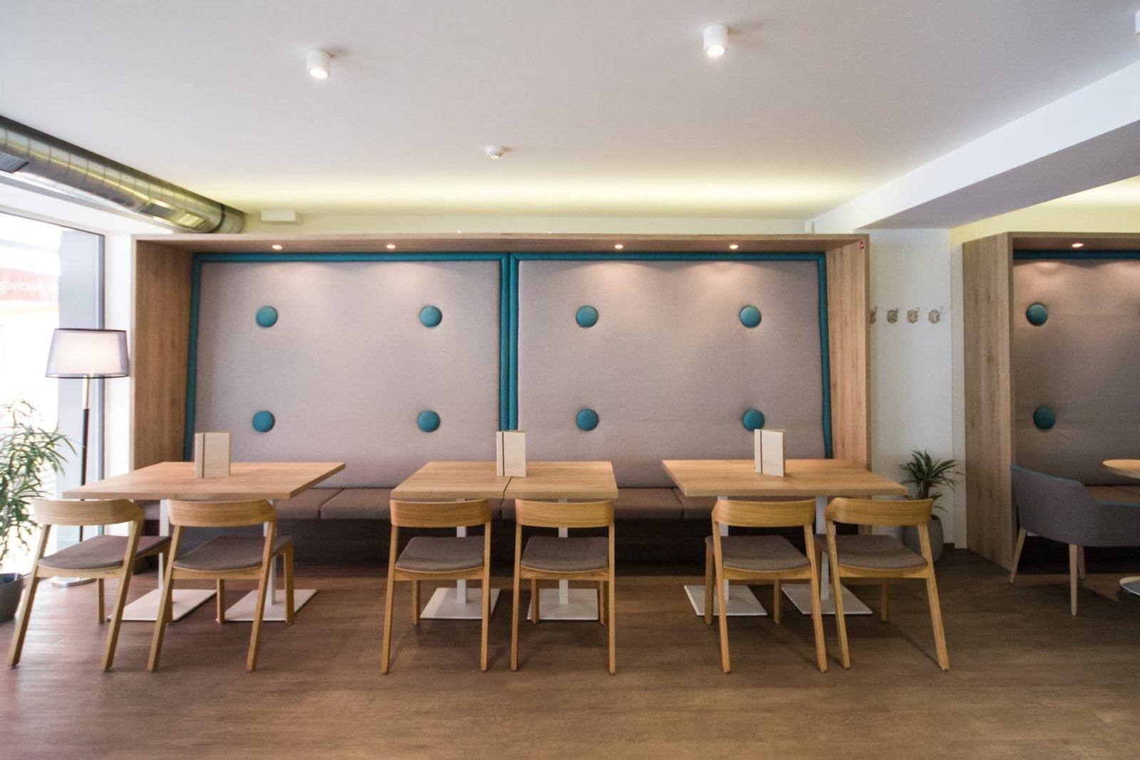 herberts café with TON furniture