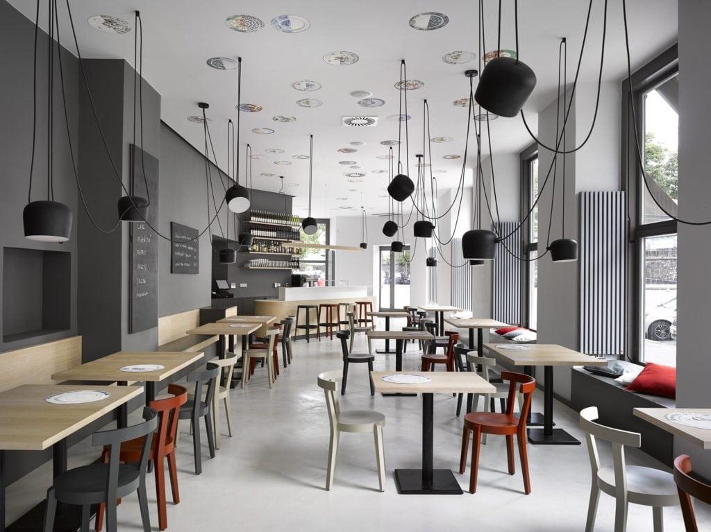 TON Punton Chairs at Cafe Zahorsky