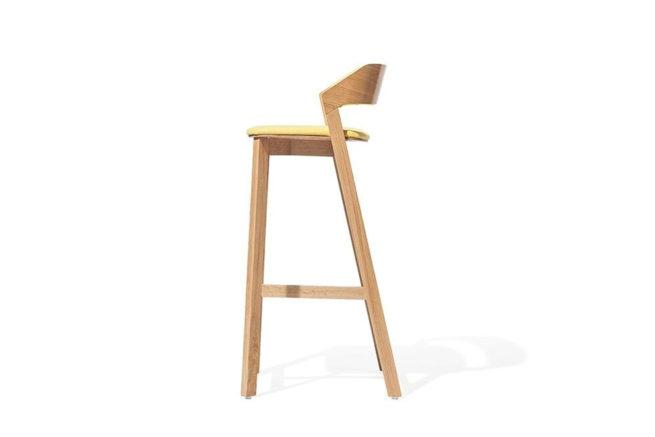 TON Barstool Merano Upholstered 2