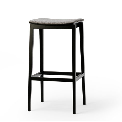 TON Barstool Stockholm Upholstered Feat