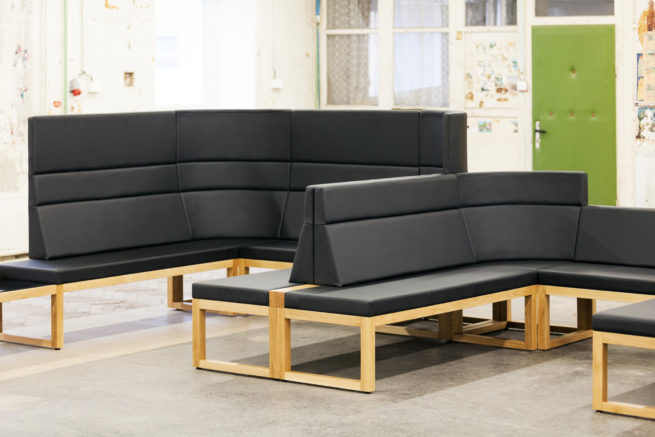 TON Bench Diner Banquet Seating 1