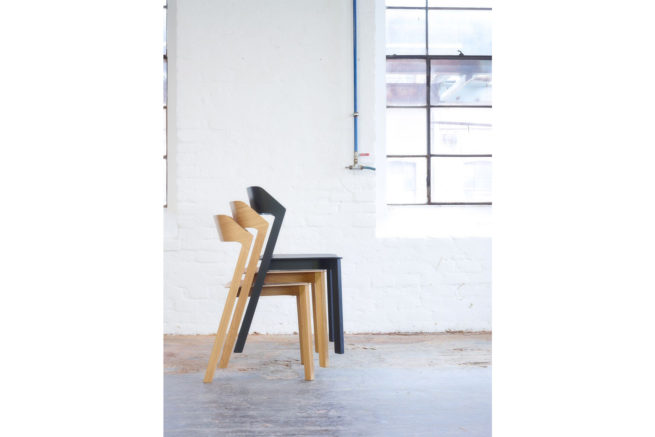 TON Merano Stacking Chair Feat