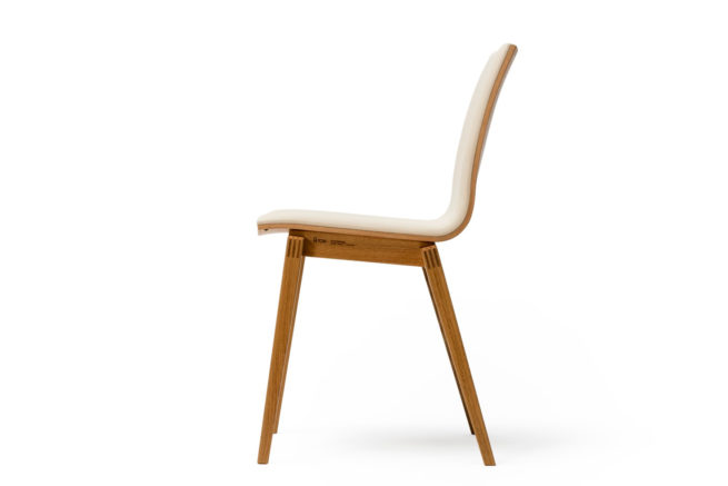 TON Stockholm Chair Upholstered 1