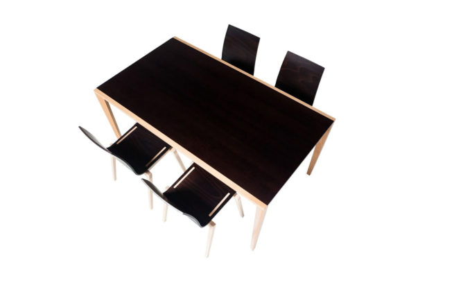 TON Stockholm Dining Table 5