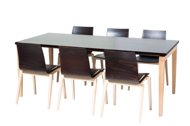 TON Stockholm Dining Table 7
