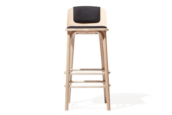 TON Barstool Split Upholstered Z 1