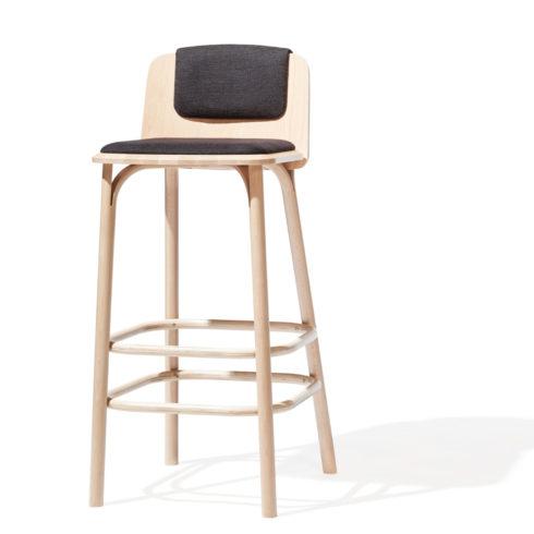 TON Barstool Split Upholstered Z 2