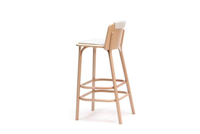TON Barstool Split Upholstered Z 3