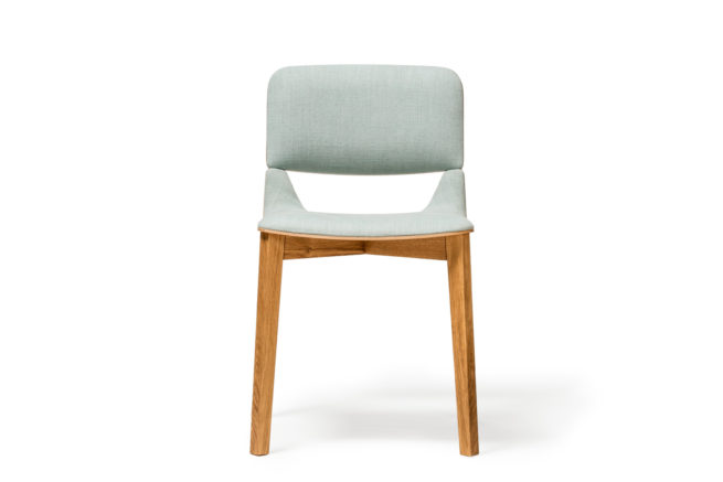TON Chair Leaf Upholstered Z 2 1