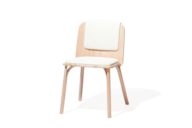 TON Chair Split Upholstered Z 7