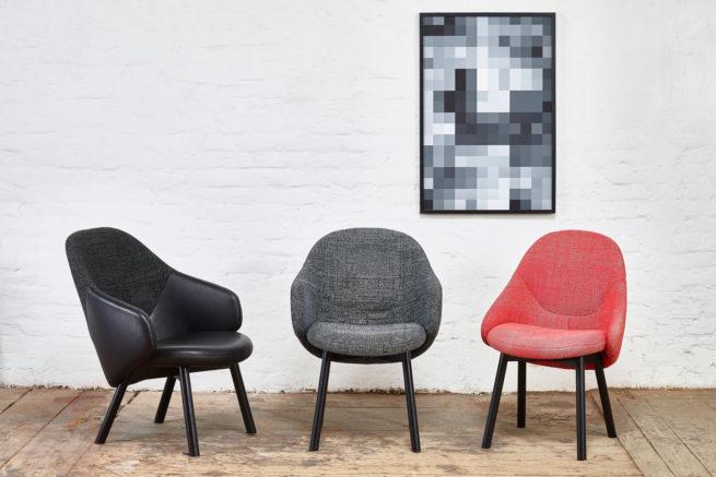 TON Lounge Armchair Alba Z 1