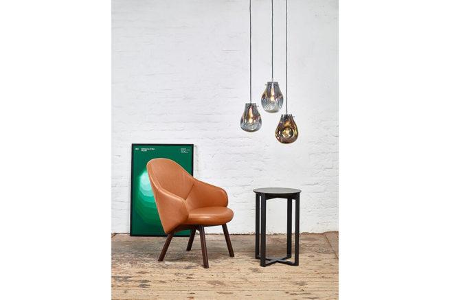 TON Lounge Armchair Alba Z 10