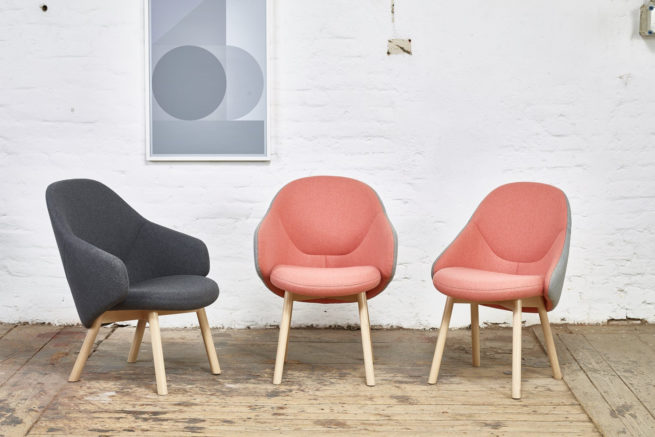 TON Lounge Armchair Alba Z 3