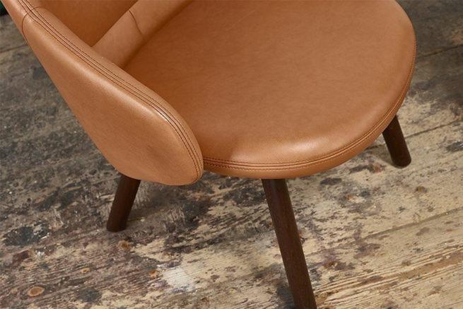 TON Lounge Armchair Alba Z 5