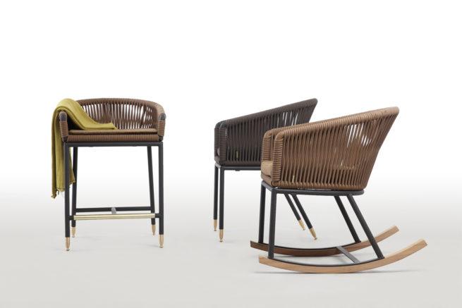 LEBELLO Barstool Chair 7 Z 6