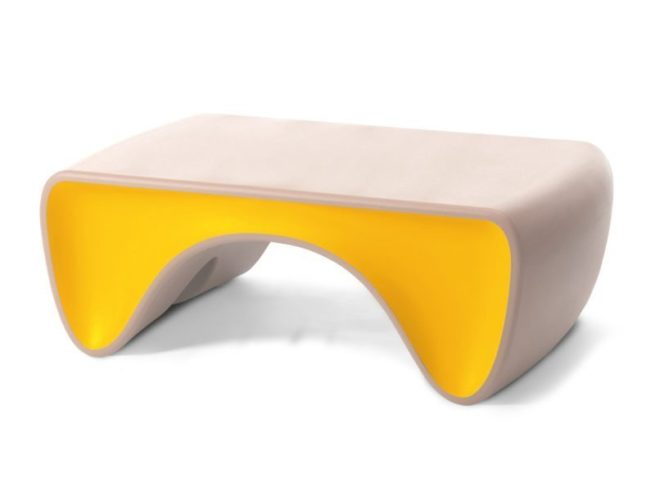 Goby Coffee Table BalletSlipper Canary x